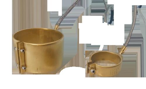Сопловый латунный нагреватель хомутовый от компании Полимернагрев