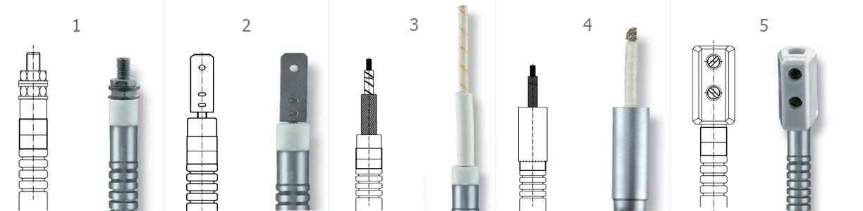 Типы подключения гибких нагревателей